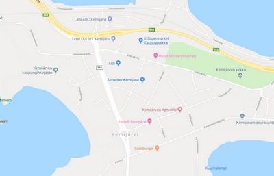 Google Maps Kartta Verkkosivuille